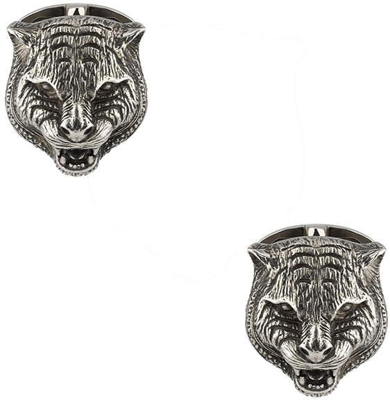 Gucci Feline Head Cufflinks