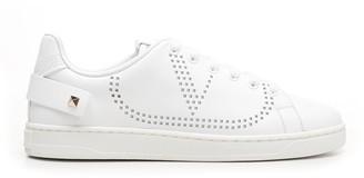 Valentino Rockstud VLogo Backnet Sneakers