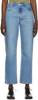 Levi's Blue Loose Straight Jeans