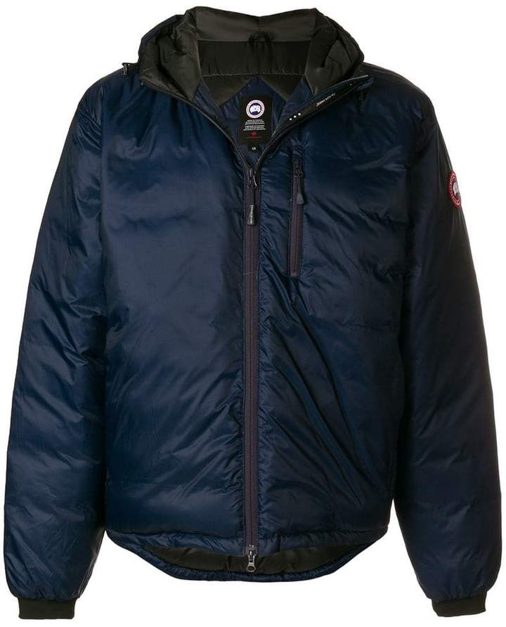 Canada Goose Lodge hooded down jacket