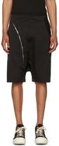 Rick Owens Black Aircut Pods Shorts
