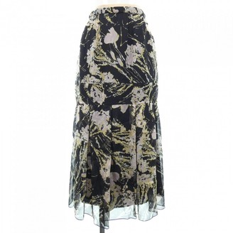 N°21 N21 Black Silk Skirt for Women