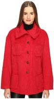 Manila Grace Funnel Neck Jacket Women's Coat