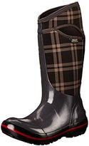 Bogs Women's Plimsoll Plaid Tall Winter Snow Boot