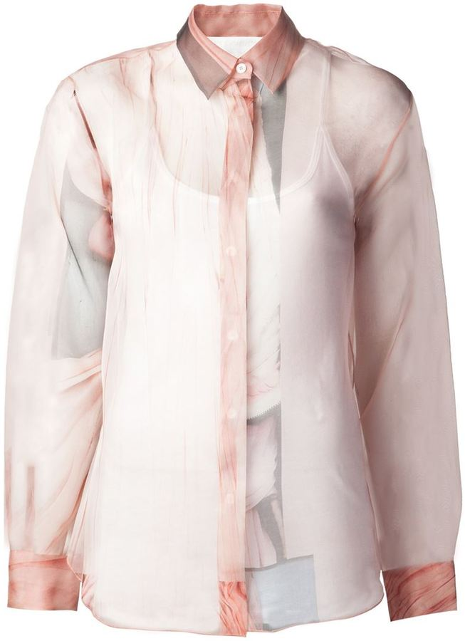 Acne Studios 'Patti' print shirt