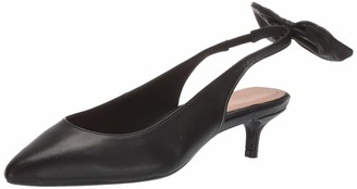 Taryn Rose Women's Noelle Pump Black 7 W W US