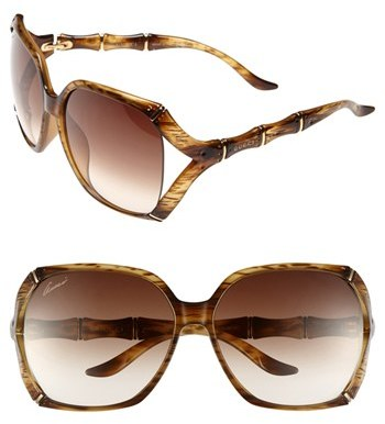 Gucci 58mm Oversized Sunglasses