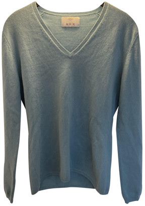 Allude Turquoise Cashmere Knitwear