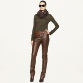 Ralph Lauren Black Label Leather Kyler Pant