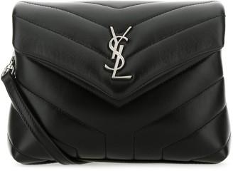 Saint Laurent Quilted Loulou Toy Shoulder Bag