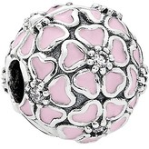 Pandora Clip - Sterling Silver, Cubic Zirconia & Enamel Cherry Blossom, Moments Collection