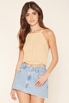 Forever 21 FOREVER 21+ Crocheted Cropped Cami