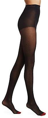 Fogal Women's Konoha Diamond Knit Control Top Tights