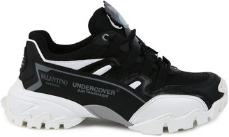 Valentino Climber Leather Sneakers
