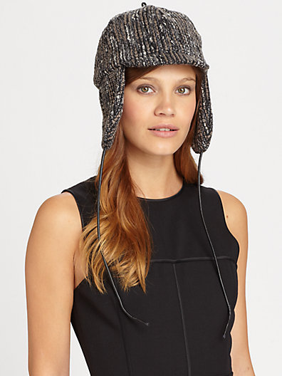 Eugenia Kim Genie By Leighton Boucle Trapper Hat
