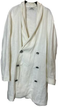 ATTICO White Linen Jacket for Women