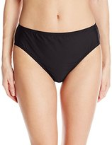 Nautica Women's Signature High-Waist Bikini Bottom