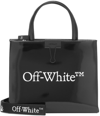 Off-White Mini Box logo tote