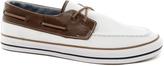 Asos Boat Shoes in Herringbone Canvas