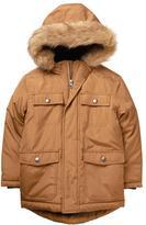 Gymboree Faux-Fur Hooded Jacket