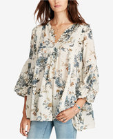 Denim & Supply Ralph Lauren Floral-Print Gauze Tunic