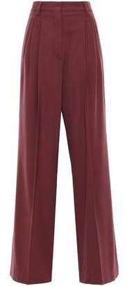 Brunello Cucinelli Stretch-wool Wide-leg Pants