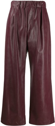 Jejia Elasticated Wide Leg Trousers