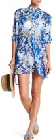 Tommy Bahama Fall Floral Tunic Cover-Up