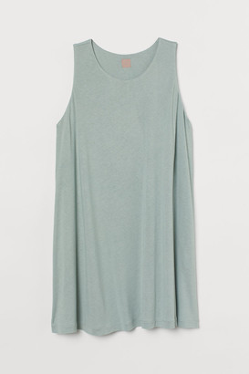 H&M H&M+ Jersey Tunic - Turquoise