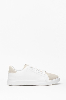 Faux Leather Trainers   Shop the world