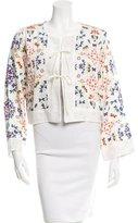 Giada Forte Butterfly Print Jacket w/ Tags