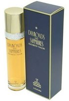 Elizabeth Taylor Diamonds & Sapphires Eau De Toilette Spray - 100ml/3.3oz