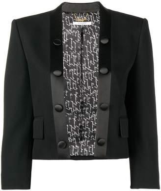 Givenchy cropped tuxedo jacket
