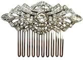 Ben-Amun Women's Bridal Wedding Window Decorative Hair Comb with Swarovski Crystal
