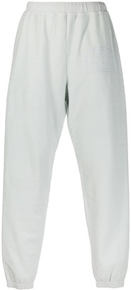 Aries Logo-Embroidered Track Trousers