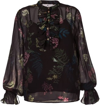 We Are Kindred Frankie floral-print blouse