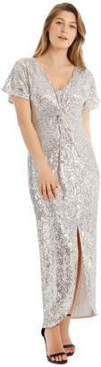 Collection Batwing Sequin Dress