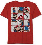 Nintendo Mario Pieces T-Shirt, Big Boys (8-20)