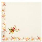 D'Ascoli Set Of Four Garden Floral-print Napkins - Pink Multi
