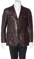 Loro Piana Leather Chore Jacket