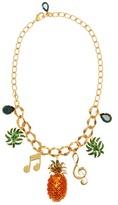 Dolce & Gabbana Collier à cristaux