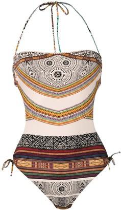 Parah Aztec bandeau trikini