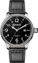 Ingersoll Men's Automatic Stainless Steel and Leather Casual Watch, Color: (Model: I02701)
