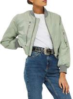 Topshop PETITE Pocket Detail Bomber Jacket