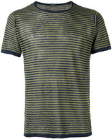 Zanone striped knit T-shirt