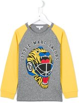 Little Marc Jacobs tiger helmet print sweatshirt