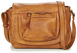 Fuchsia F9897 women's Shoulder Bag in Yellow