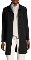 Cinzia Rocca Split Stand Collar Walker Coat