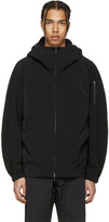 Attachment Black Hooded Jacket