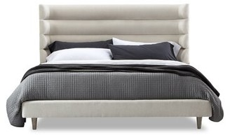 Interlude Ornette King Upholstered Platform Bed Color: Night